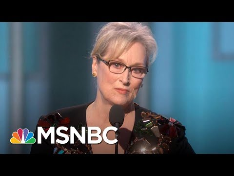 Meryl Streep Weighs In On Harvey Weinstein's Sexual Harassment Allegations  Morning Joe  MSNBC