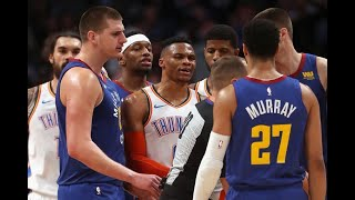 """Come on, dude"" Nikola Jokic vs Russell Westbrook Moments"