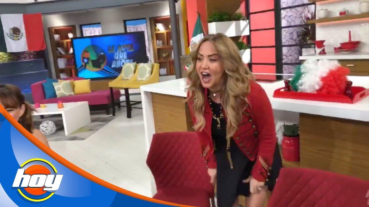Andrea Legarreta Xvideos andrea legarreta se levanta la falda en hoy ¿para enseñar