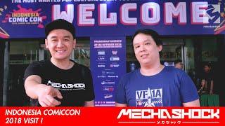 Indonesia Comic Con 2018 Event Coverage !