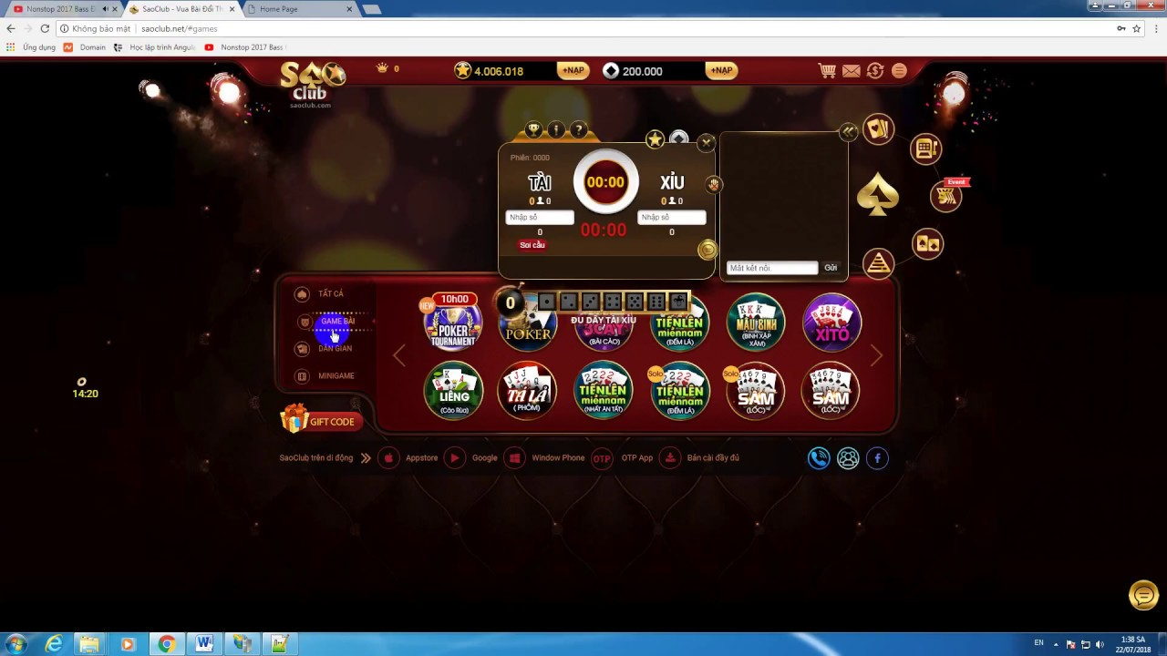 Mã nguồn game tài xỉu VTC Online vtcgame.vn