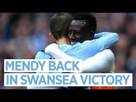 Man City 5-0 Swansea   MENDY BACK   Post match interview