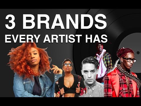 The 3 Brands EVERY Artist Has (And Why They're Important)