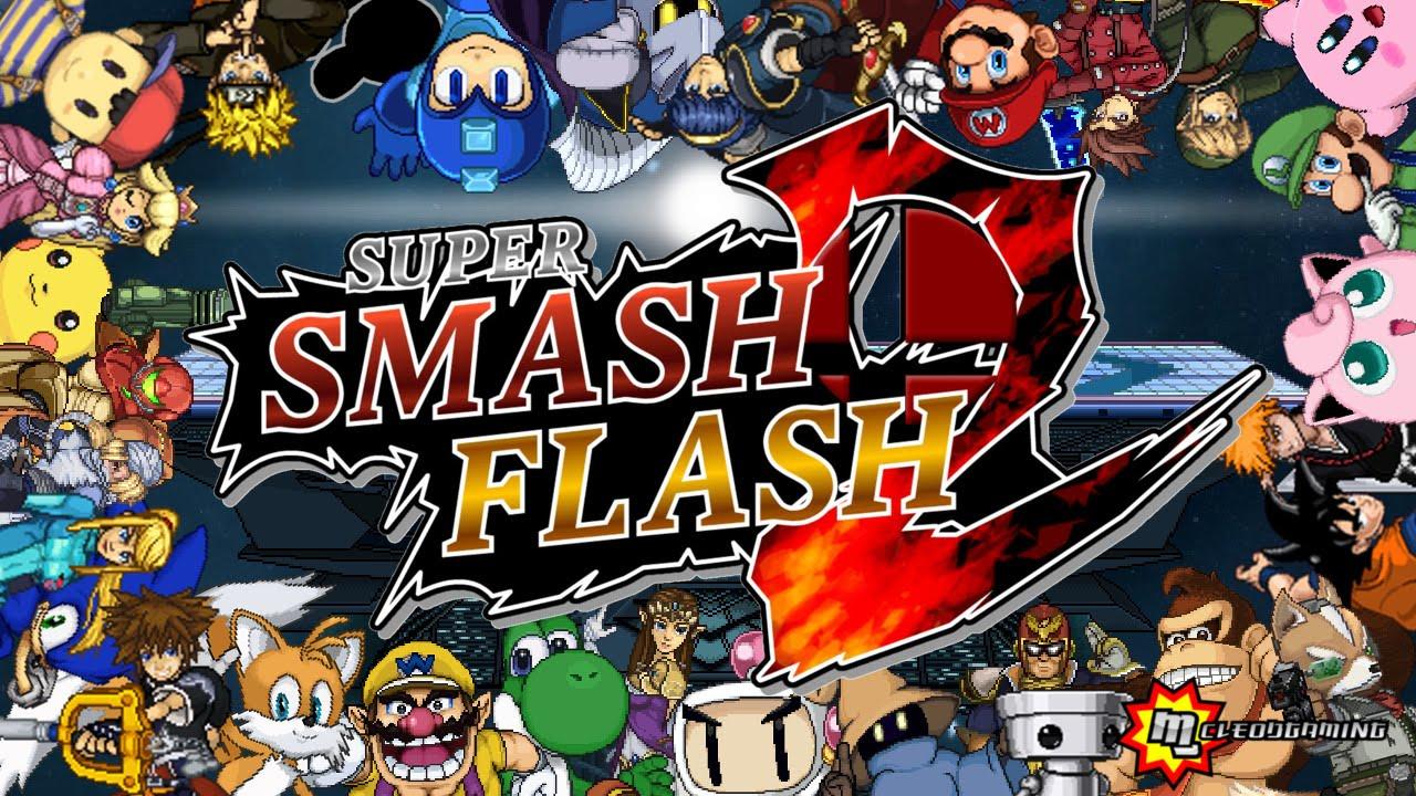 Super Smash Flash 2 Website