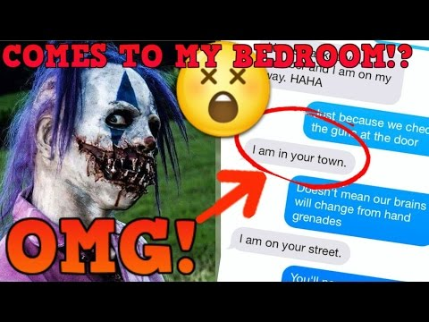 "SONG LYRIC TEXT PRANK ON CREEPY KILLER CLOWN - 21 PILOTS ""HEATHENS"" (GOES WRONG) | Texting a Clown"