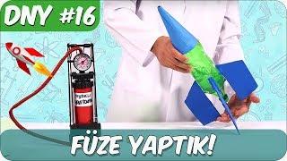 Fen Deneyi #16 | Roket Nasıl Yapılır?