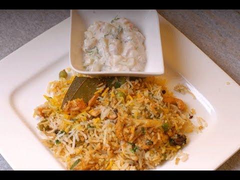 Vegetable Biryani Mumbai Wedding Style - By VahChef @ VahRehVah.com