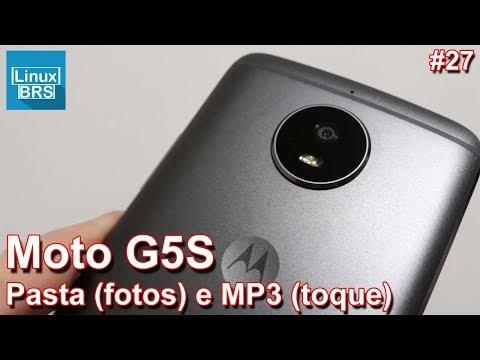 Motorola Moto G5S - Pasta (galeria de fotos) e MP3 (toque padrão)