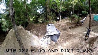 mtb backflips and dirt jumps