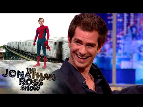 Andrew Garfield's Genuinely Happy Tom Holland Is Spiderman   The Jonathan Ross Show