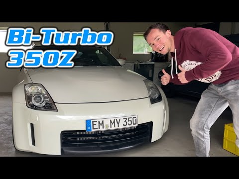 350Z SINGLE TURBO SOUNDS THROUGH THE CANYONS!