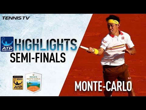 Highlights: Nishikori Earns Historic Opportunity Against Nadal In Monte-Carlo 2018