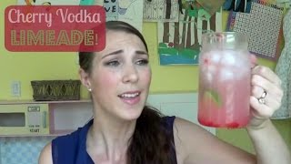 Cherry Vodka Limeade! |  Pinterest Drink #19 | Mamakattv
