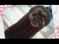 peinados recogidos faciles para cabello largo bonitos y rapidos con trenzas para niña para fiestas72
