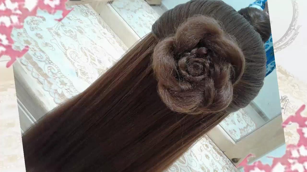 Peinados recogidos faciles para cabello largo bonitos y - Trenzas para nina ...