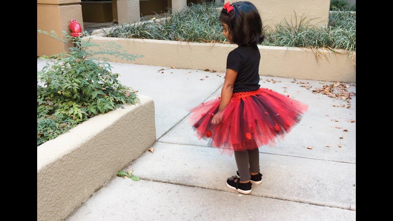 No Sew Tutu Skirt For Halloween