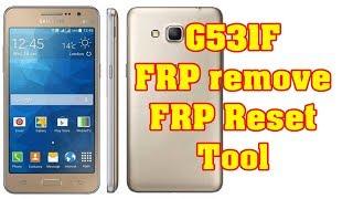 Samsung g531f frp reset remove google account adb