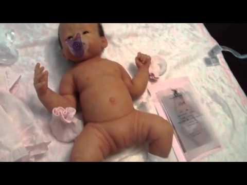 Full Bodied Anatomically Correct Soft Silicone Baby Layla - YouTube