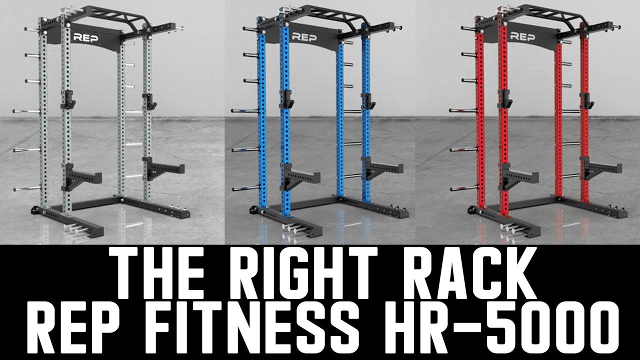 The right rack rep fitness hr 5000 youtube