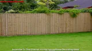 Garden Fences Ideas For Your House