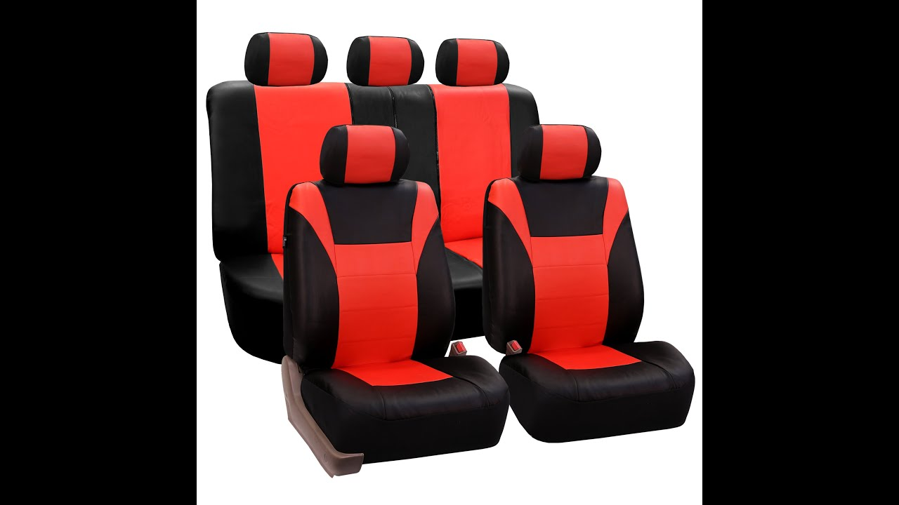 Racing PU Leather Seat Covers