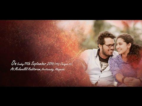 """"""" Ariyathe Ninayathe """" Soorya + Kailas Wedding short Movie thumbnail"""