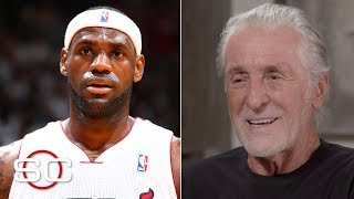 LeBron James leaving the Heat made a 'dynasty fly out the window' - Pat Riley | SportsCenter Special