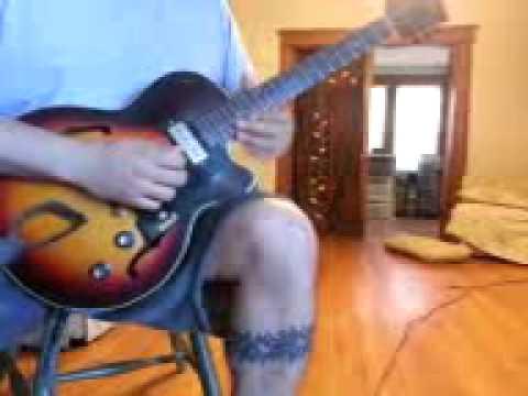 Improvised Blues on a Fender G Dec 30