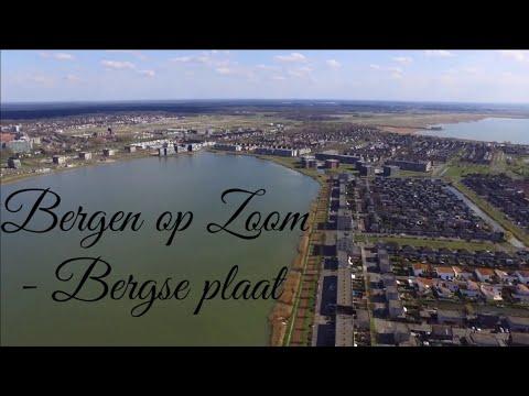 Bergen op Zoom / De Bergse Plaat (drone)