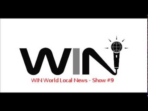 WIN Show #9 - WIN WORLD LOCAL NEWS Segment - Best Improv Comedy Radio Show (Free)
