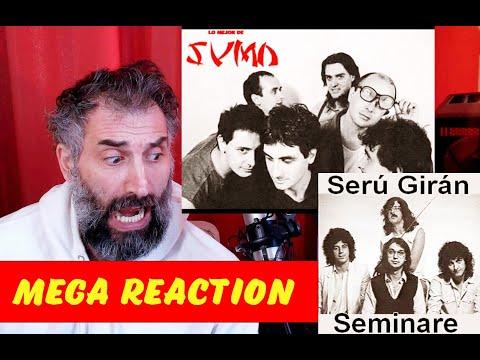 Sumo Hello Frank - Serú Girán - Seminare - Mega Reaction