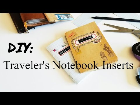 How To: Making Traveler's Notebook Inserts