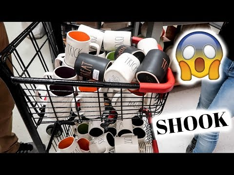 EXPOSING THE DARK SIDE OF RAE DUNN COLLECTING // Rae Dunn Fall + Halloween Shopping