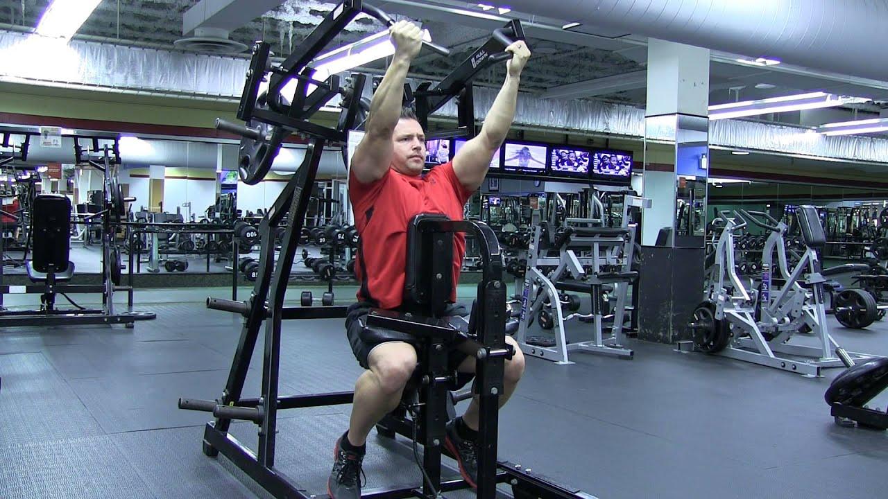 hammer strength pull machine