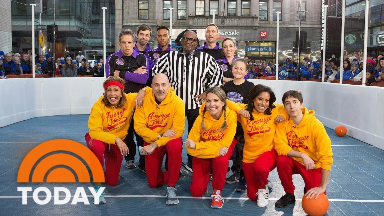 ben-stiller-and-justin-long-join-the-today-anchors-to-play-dodgeball-for-charity-today