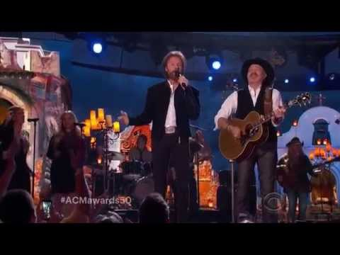 Brooks & Dunn My Maria 50th.ACM Award's 2015.
