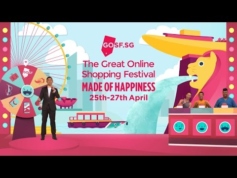 The Great Online Shopping Festival - Made of Happiness
