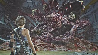 Resident Evil 3 Remake Final Boss & Ending (RE3 Remake 2020) 4K Ultra HD