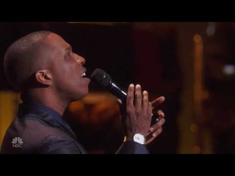 Leslie Odom Jr - Autumn Leaves - Tony Bennett Celebrates 90 - Michael O. Mitchell on piano