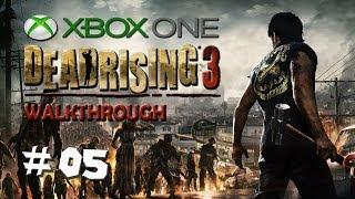 "Dead Rising 3 - Walkthrough - PART 5 ""Samurai Psychopath!"" / XBOX ONE Gameplay"