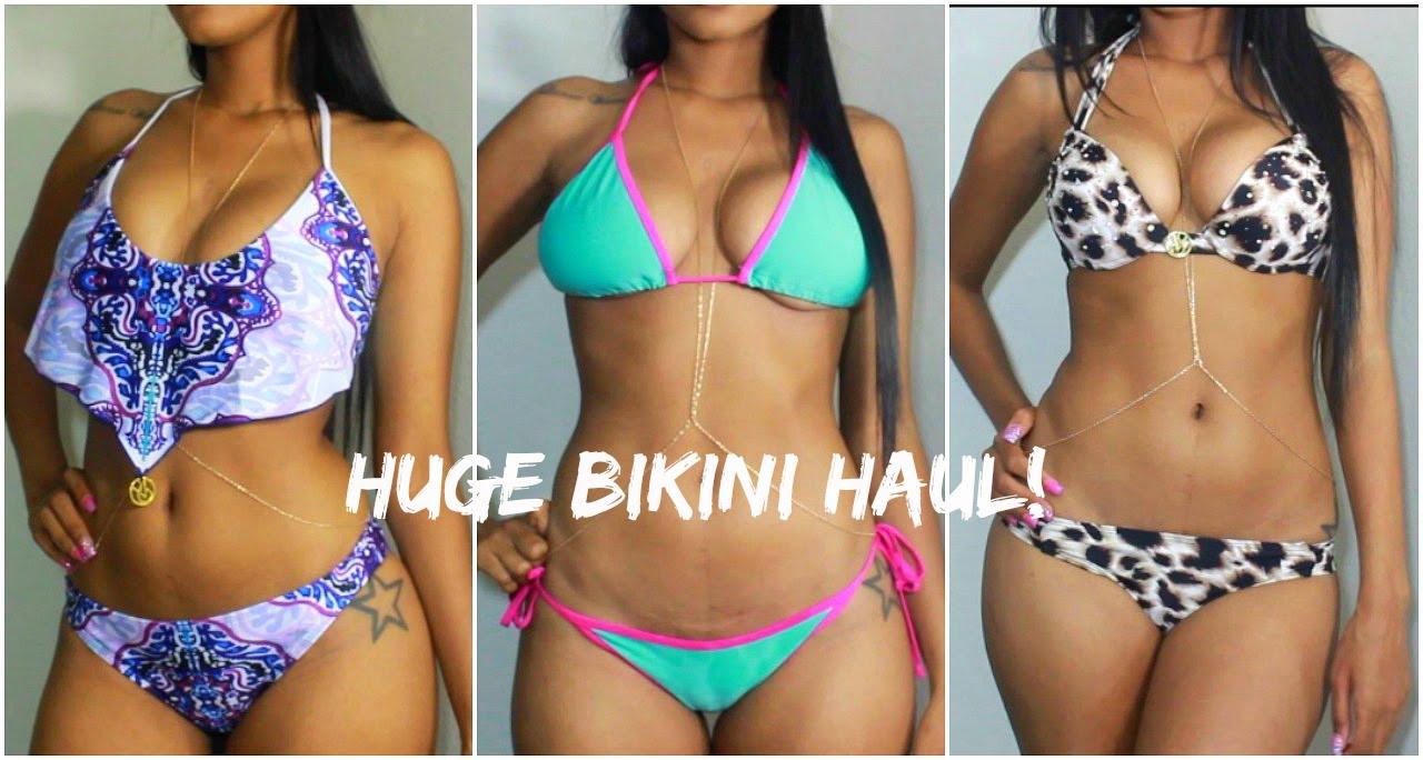 Try-on Swimsuit Haul! - YouTube fabc15696