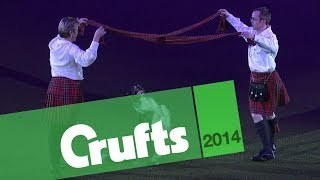 Heelwork to Music  Mary Ray and Richard Curtis | Crufts 2014