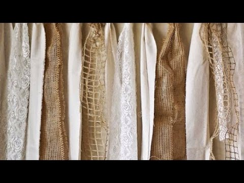Make a Pretty Lace and Burlap Garland - Home - Guidecentral