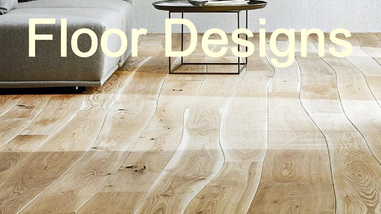 hardwood floor designs / patterns - YouTube