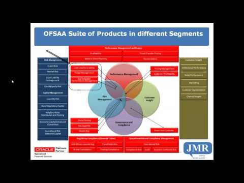 OFSAAA   Suite of products in different segments
