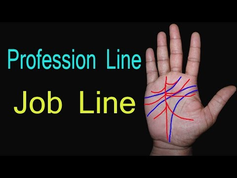 profession palmistry |Job Line |नौकरी के योग | career line | hindi palmistry