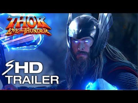 THOR 4  Love and Thunder 2022 Teaser Trailer Concept   Natalie Portman  Chris Hemsworth MCU Movie108