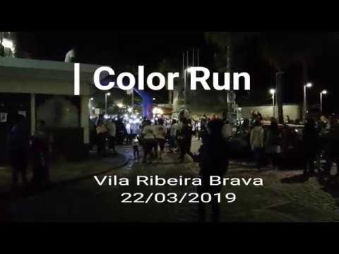 Color Run na Vila da Ribeira Brava