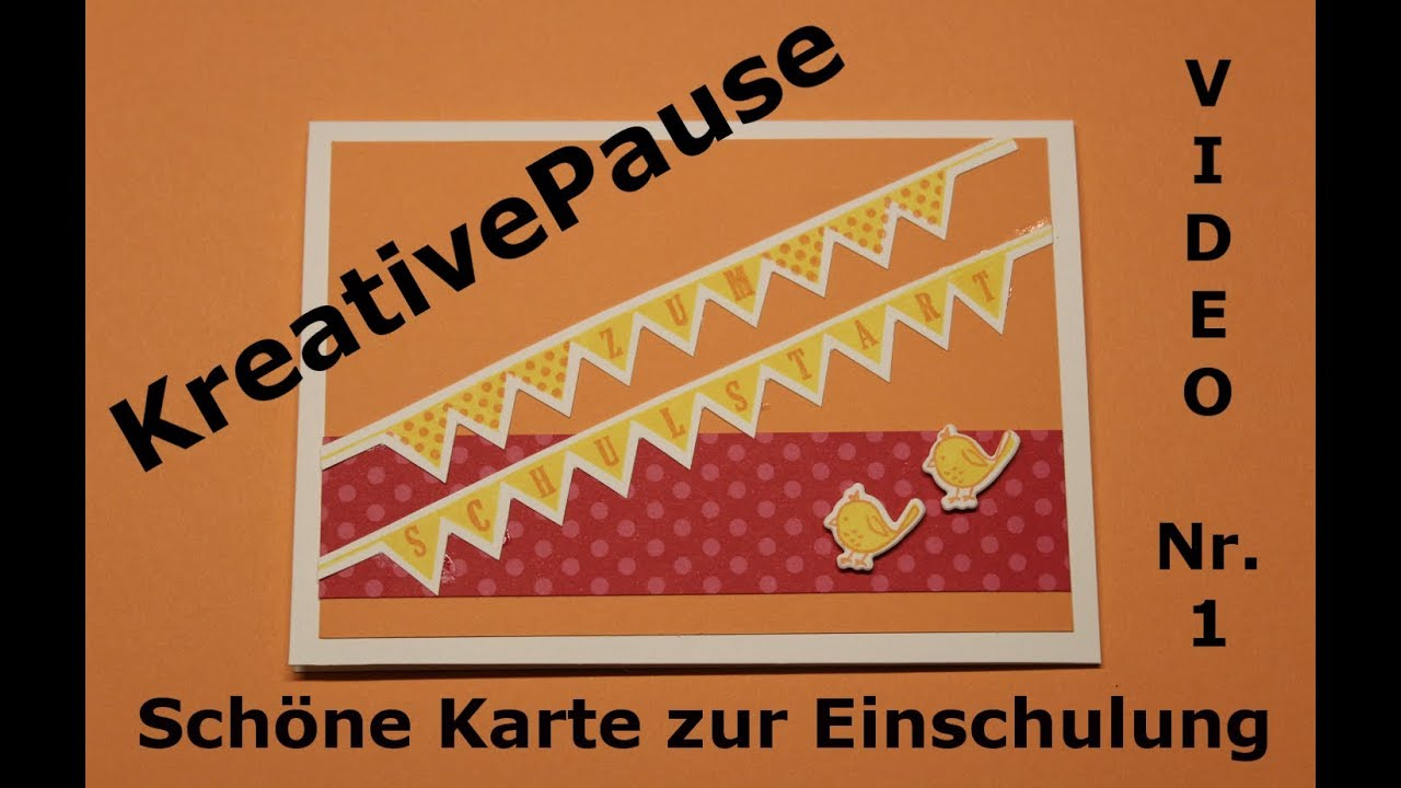 Karte Zur Einschulung.Karte Zur Einschulung Mit Stampin Up In Color 2018 2020
