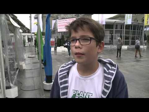Ein Teenager und 1000 Milliarden Bäume - Interview mit Basler Zeitung